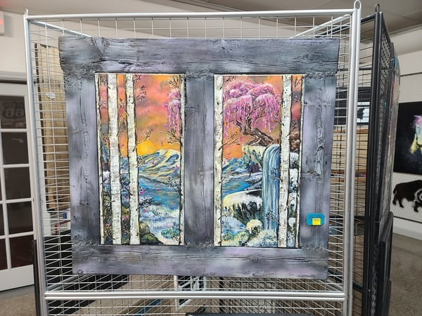 A Glimpse Of Winter Art | I am Rt 66