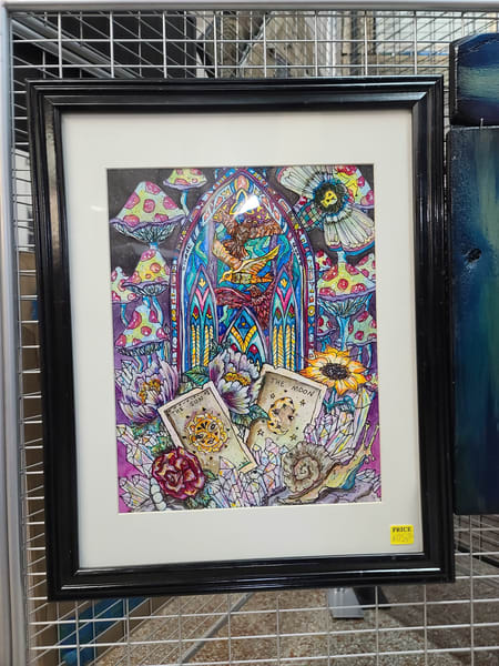 Gypsies Window Art | I am Rt 66