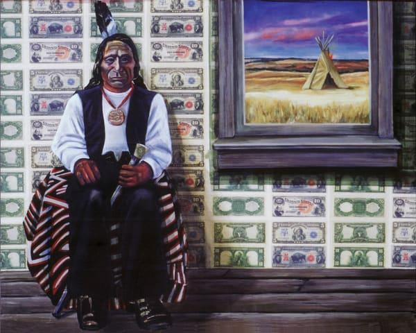 Red Cloud  Art | Channe Felton Fine Art