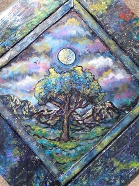 Abalone Moon Rise | I am Rt 66