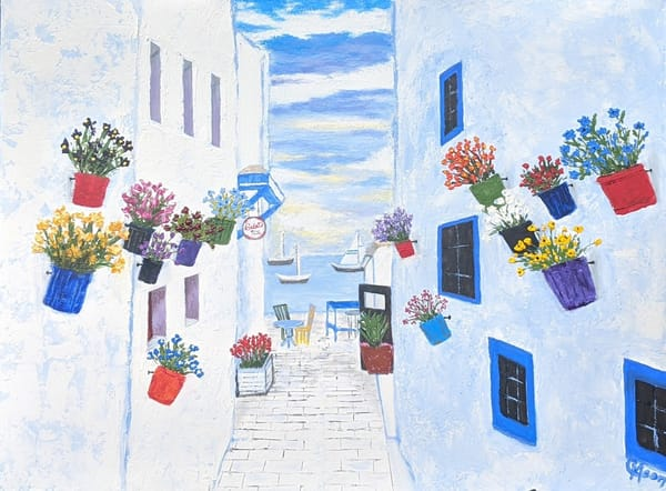 European Tourist Art | Carol Moon Art