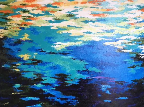 Reflection   Original Art | Mercedes Fine Art