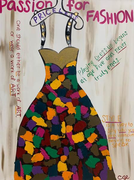 Passion For Fashion Art | Courtney Einhorn