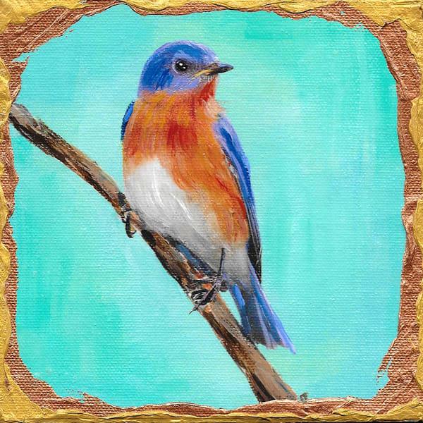 Eastern Bluebird Art | Channe Felton Fine Art