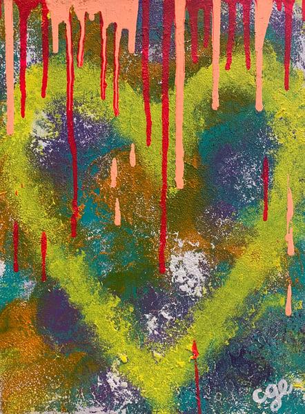 Bleeding Heart Art | Courtney Einhorn