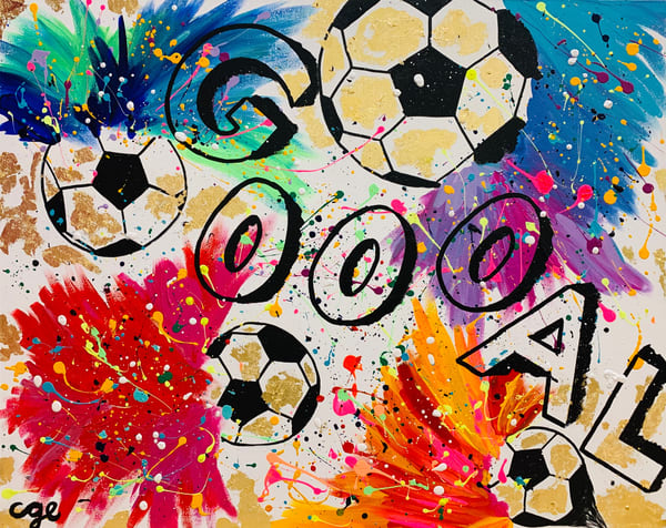 Goal Art   Courtney Einhorn