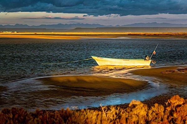Beached Panga Photography Art | Carol Brooks Parker Fine Art Photography