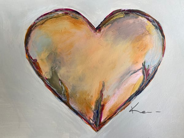 Pumpkin Love #2 (On Paper) Art | kellymerkurart