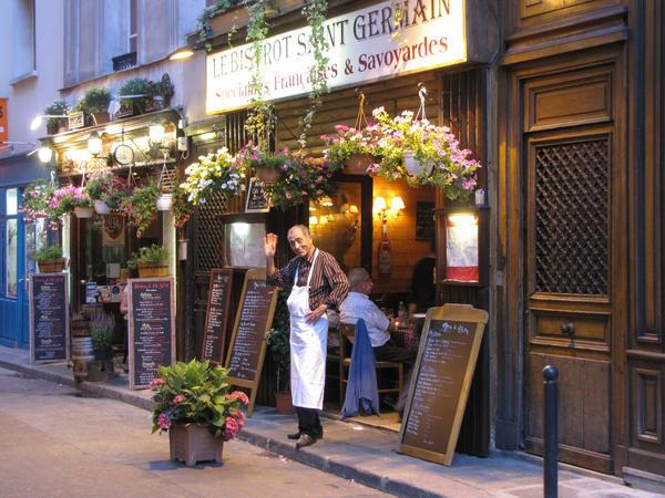 Parisien Waiter Photography Art | Julie Williams Fine Art Photography