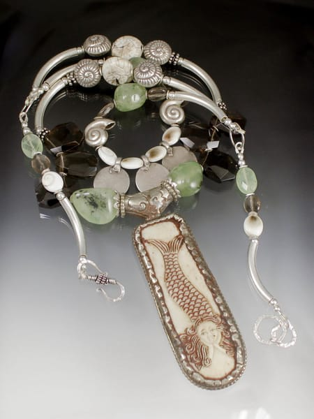 Mermaid Lagoon Necklace Art | Texas MerMade