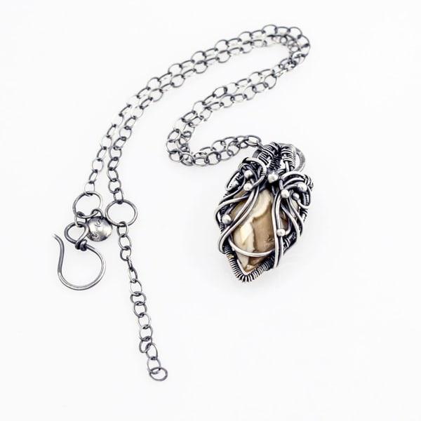 Demeter Ocean Jasper Necklace Art | Texas MerMade