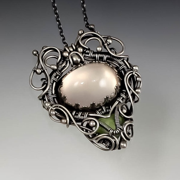 Apache Plume Necklace Art | Texas MerMade