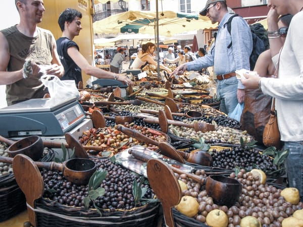 Market Day   Olives For Sale Photography Art | Julie Williams Fine Art Photography