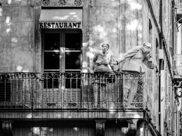 Parisien Balcony B&W Photography Art | Julie Williams Fine Art Photography