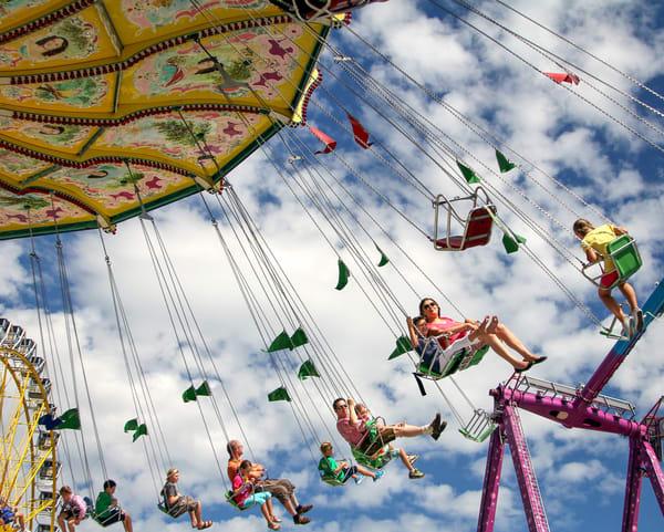 Swings At Markham Fair Photography Art | Julie Williams Fine Art Photography