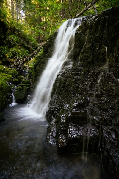 Waterfall, Pinto Creek, Washington, 2020