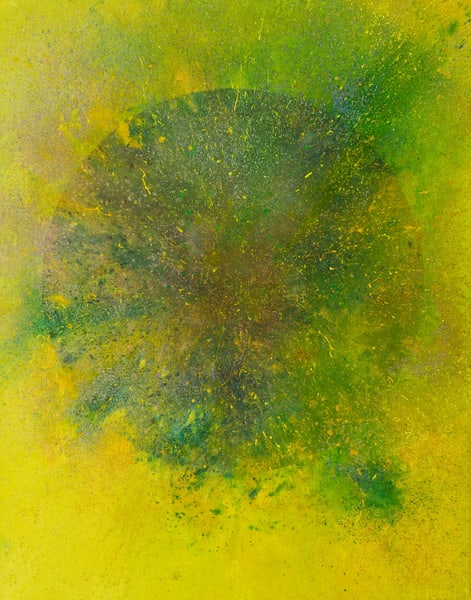 Event Horizon #10 - abstract painting by David Copson