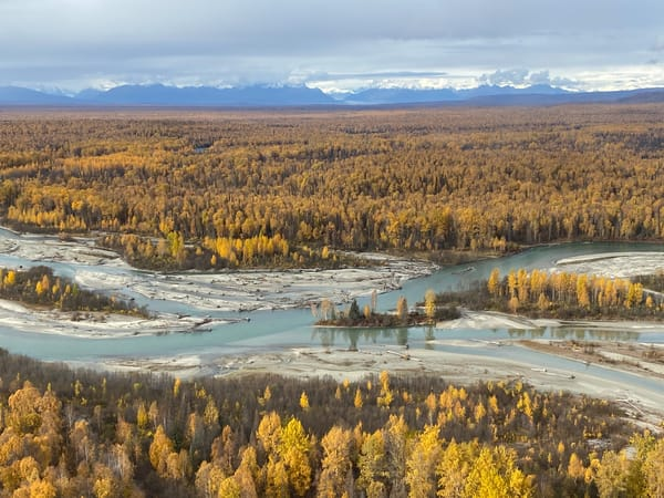 Talkeetna River And  Entry To Ruth Glacier Photography Art   Visionary Adventures, LLC