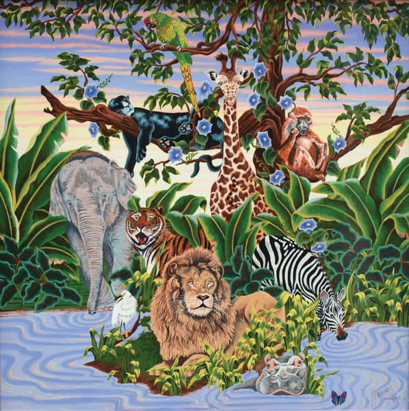 Animal Kingdom   Limited Edition  Art | Mercedes Fine Art