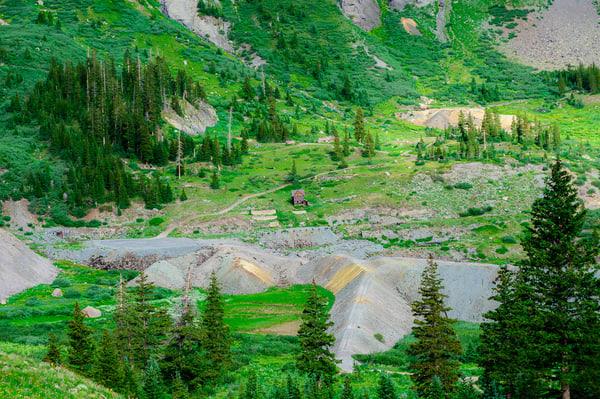 Mine, Imogene Pass Road, Colorado, 2013