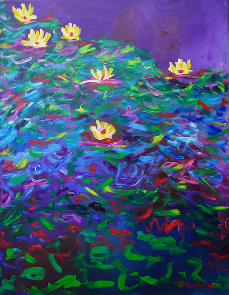 Melissa Ayr - Original Painting - Artwork - Center Stage