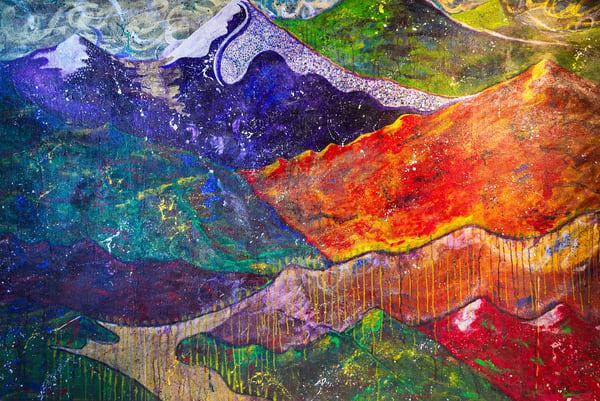 Melissa Ayr - Original Painting - Artwork - The Long And Winding Road