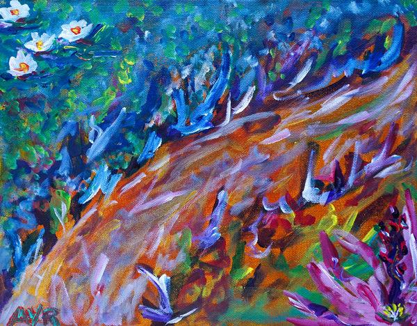 Melissa Ayr - Original Painting - Artwork - Path By The Lake