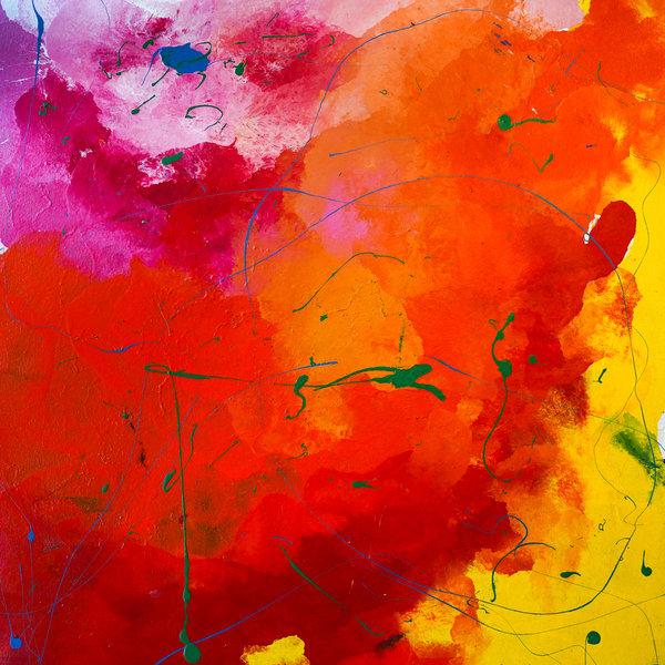 Melissa Ayr - Original Painting - Artwork - Bush Fire
