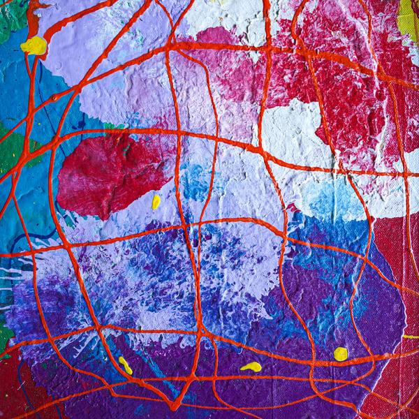 Melissa Ayr - Original Painting - Artwork - Crosshatching