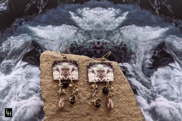 Mirror 1556-No. 2 Earrings