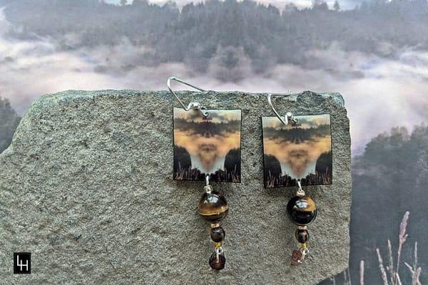 Mirror 983_No. 1 Earrings
