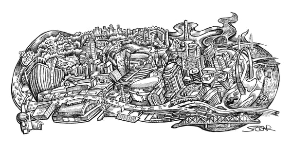 St Louis Sketch Art | David Spear