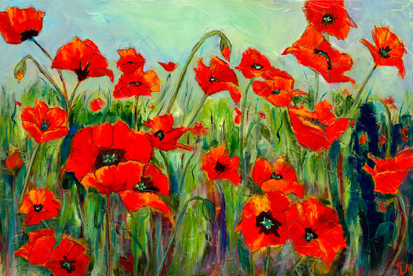 A Whole Lot of Poppies - Terry MacDonald