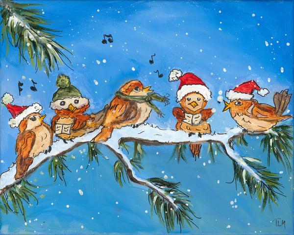 Birds A Caroling - Terry MacDonald