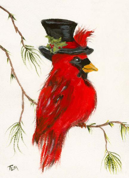 Christmas Cardinal - Terry MacDonald