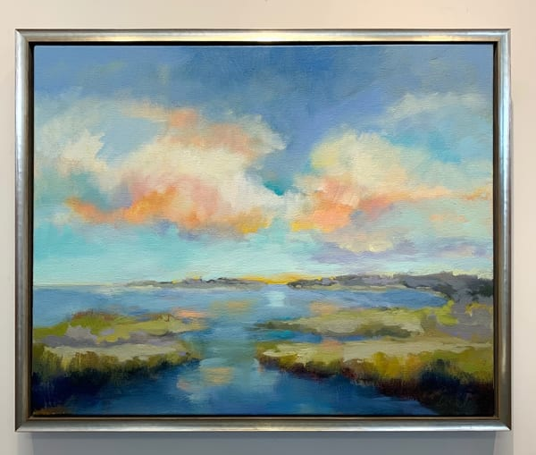 Soft Light On The Cove Art | ODILE
