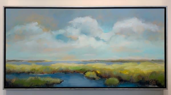 """Along The Margin Of The Bay"" Art | Odile Fine Art"