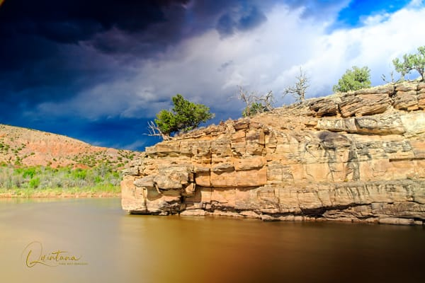 Storm Over the Chama - A Fine Art Photograph by Marcos R. Quintana