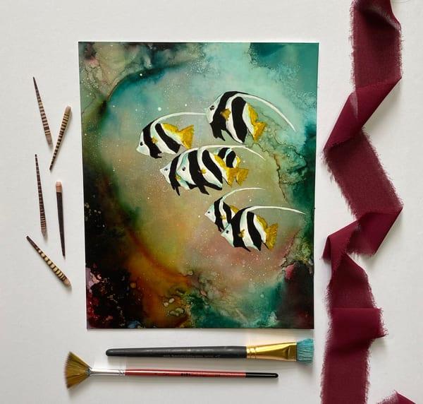 Heavenly Waters Art | Heidi Stavinga Studio