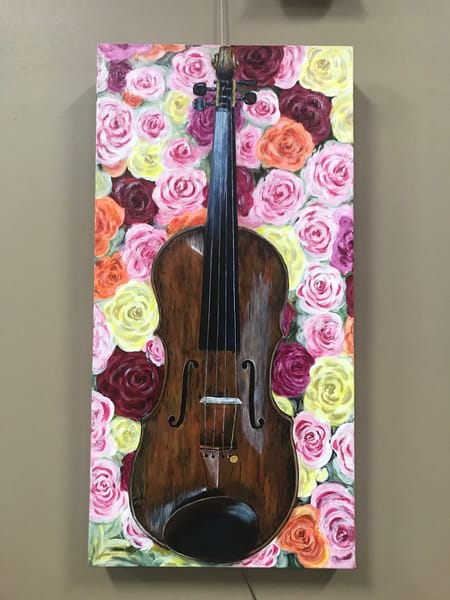 Symphony Of Roses Art | alanajudahart