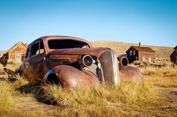 """Rusty Old Coupe 3"" print | Jim Parkin Fine Art Photography"