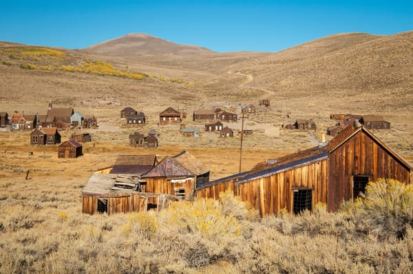 """""""Weathered Buildings in a Ghost Town"""" print   Jim Parkin Fine Art Photography"""