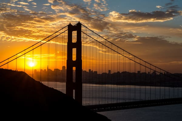San Francisco Sunrise Ii   Limited Edition Photography Art | Greg Starnes Phtography