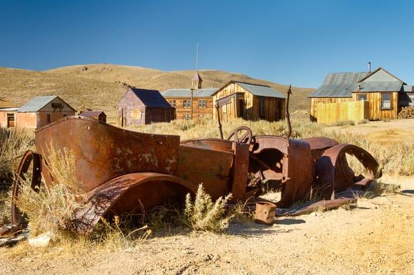 """Rusty Old Convertible 3"" print   Jim Parkin Fine Art Photography"