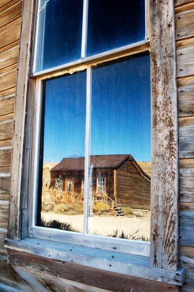 """""""Reflections in a Ghost Town"""" print   Jim Parkin Fine Art Photography"""