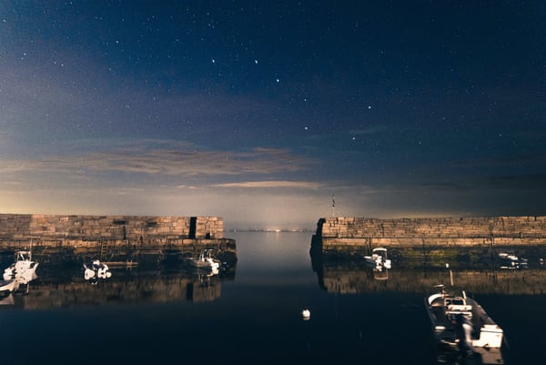 Big Dipper Over Lanes Cove Art | capeanngiclee
