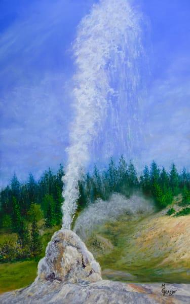 Lone Star Geyser Art | Mark Grasso Fine Art