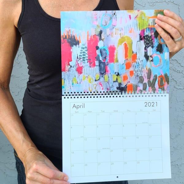 2021 Fields Of Flowers Calendar | Betty Franks Art