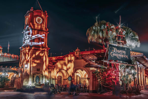 Pirates Of The Caribbean Halloween 2 Photography Art | William Drew Photography