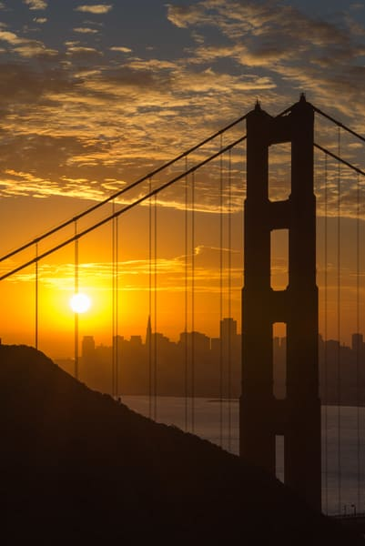 San Francisco Sunrise I   Limited Edition Photography Art | Greg Starnes Phtography